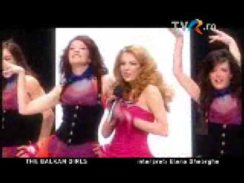 Elena Gheorghe - The Balkans Girls (Romania Eurovision 2009)